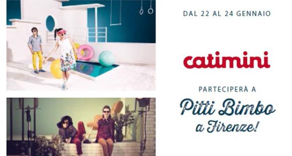 A Pitti Bimbo 2015 il ritorno di Catimini con una collezione fresca e innovativa