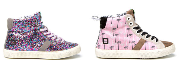 Sneakers per bambini: D.A.T.E. Kids propone i nuovi modelli ispirati agli anni '80