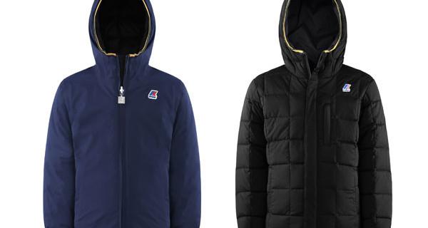 K-Way Kids a Pitti Bimbo con le nuove giacche per l'Autunno/Inverno 2015