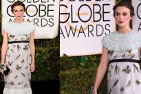 Keira Knightley incinta ai Golden Globe Awards 2015: il suo abito firmato Chanel