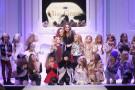 Pitti Bimbo: la sfilata di Miss Grant per presentare la collezione Autunno Inverno 2015 [FOTO]