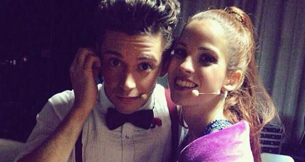 """Ruggero Pasquarelli è fidanzato: """"Io e Candelaria Molfese ci siamo innamorati sul set di Violetta"""""""