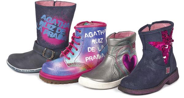 Agatha Ruiz De La Prada: le coloratissime nuove scarpe per bambina