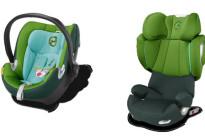 Viaggi in macchina meno noiosi con i nuovi colori dei seggiolini Cybex Platinum