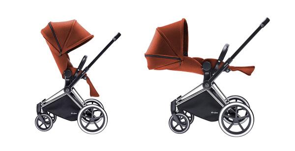 Cybex Priam: innovazione e sicurezza nel nuovo passeggino per bebè