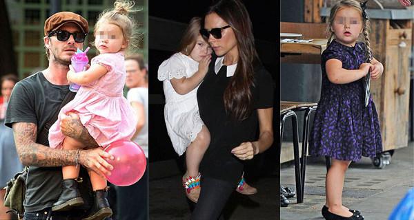 Icona di stile a 3 anni: tutti pazzi per Harper Beckham, la figlia di David e Victoria