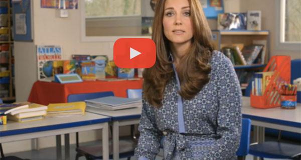 """Kate Middleton, incinta, si rivolge ai genitori: """"Non abbiate paura di chiedere aiuto"""""""