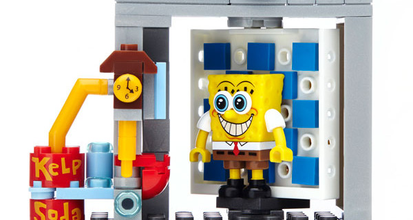 SpongeBob diventa un mattoncino: i nuovi set firmati Mega Bloks