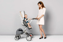 Vestire il passeggino in stile retrò: Stokke presenta Style Kit Grid