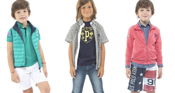 U.S. Polo Assn.: la collezione PE2015 per bambini che ricorda quella dei papà