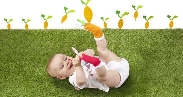 Pasqua: i calzini gioco che si trasformano in marionette