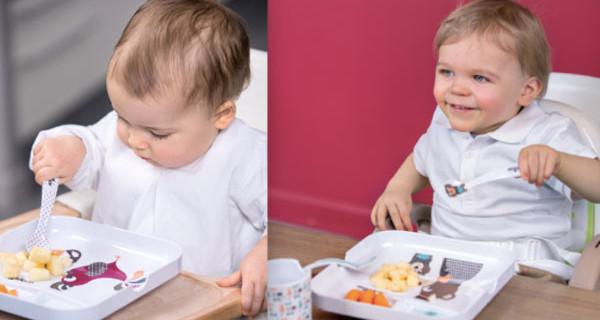 Set da pranzo per bambini: per affrontare lo svezzamento con allegria!