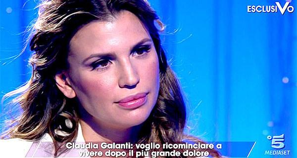 """Claudia Galanti parla della morte di sua figlia Indila: """"Aveva appena iniziato a gattonare, questo è il ricordo più bello"""""""