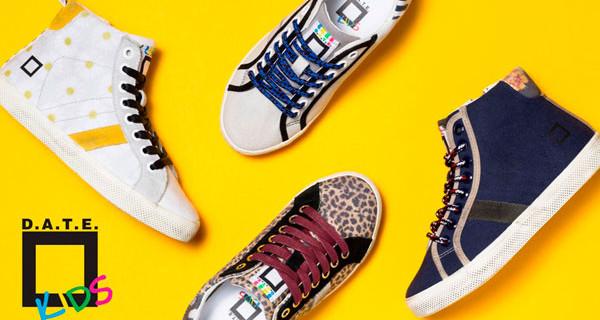 D.A.T.E. Kids: le scarpe per bambini perfette per viaggiare