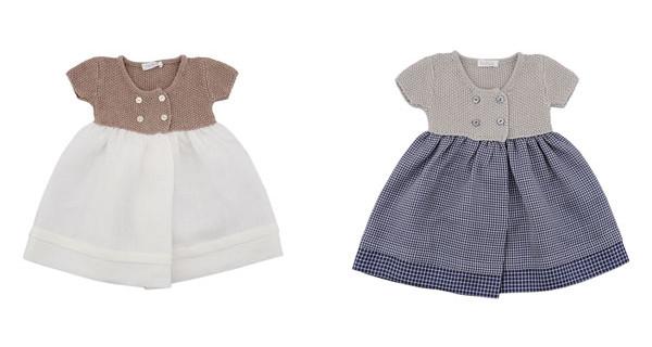 Tendenze per la primavera dei neonati: gli abiti Tricot firmati Filobio