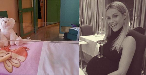 """Michelle Hunziker mostra la prima foto della sua terza bimba: """"Ecco a voi la piccola Celeste"""""""