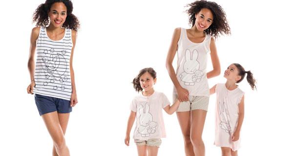Miffy festeggia 60 anni: arriva la linea di pigiami per bambini dedicati al famoso coniglietto