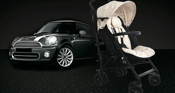 MINI buggy, il passeggino super leggero per i piccoli appassionati di motori