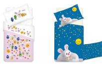 La nuova collezione Gabel per i lettini dei bambini è dedicata al cartone animato Mofy