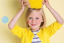 Cosa far indossare ai bambini a Pasqua? I look in giallo scelti da Noukie's