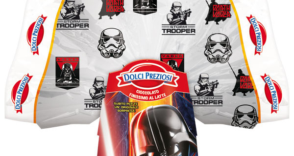 Uova di Pasqua 2015 di Star Wars: le proposte firmate Dolci Preziosi per Lucas Film