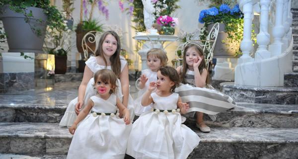 """La Stupenderia ha vestito le """"piccole principesse"""" degli Infant Charity Awards. Il loro look"""