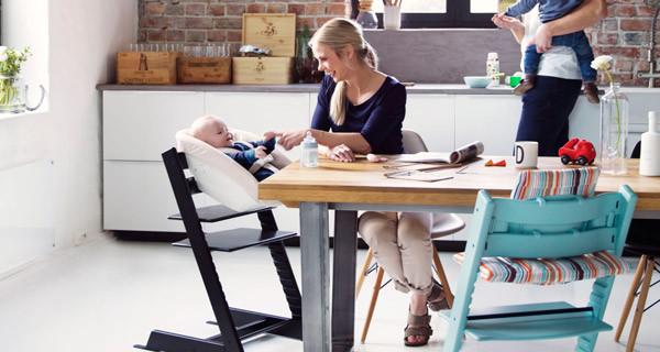 A tavola con i bambini: Tripp Trapp accompagna la crescita dei bebè