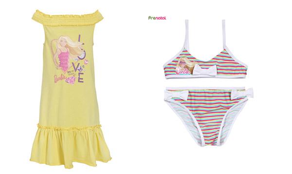 Abbigliamento Barbie per bambine  arriva la collezione firmata Prénatal 237943de34d