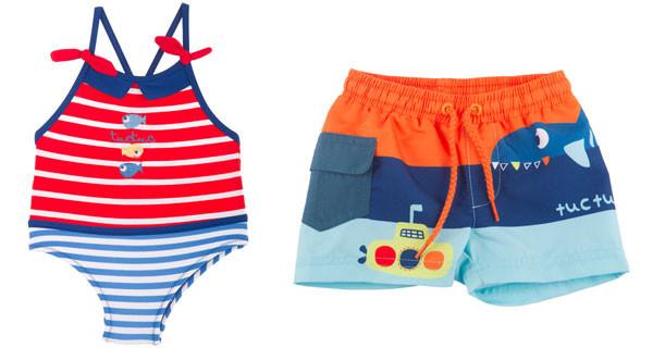L'estate è alle porte, ecco i costumi per bambini più colorati