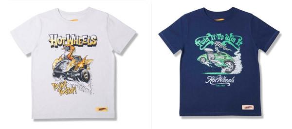 T-shirt per la prossima Estate: la collezione Hot Wheels by Zara per bambini