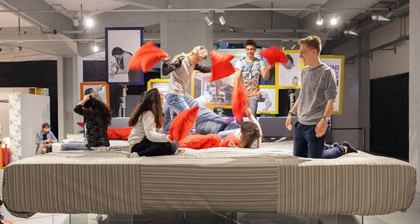 Kids Design Week: con un letto extra large LAGO fa tornare tutti bambini
