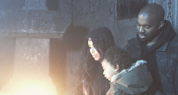 Kim Kardashian e Kanye West: Battesimo a sorpresa per la piccola North a Gerusalemme