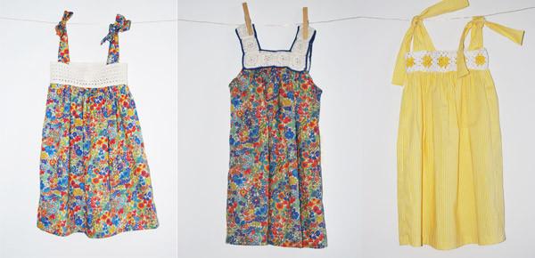 Tendenze moda per l'estate delle bimbe: Los Trapitos Al Sol punta sui dettagli in macramè