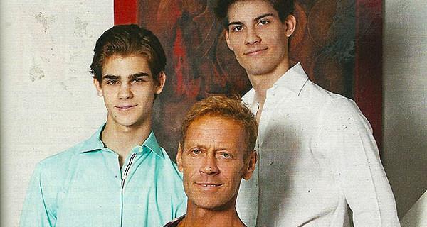 """Rocco Siffredi presenta i suoi figli e ammette: """"La mia vita da papà ora sarà diversa"""""""