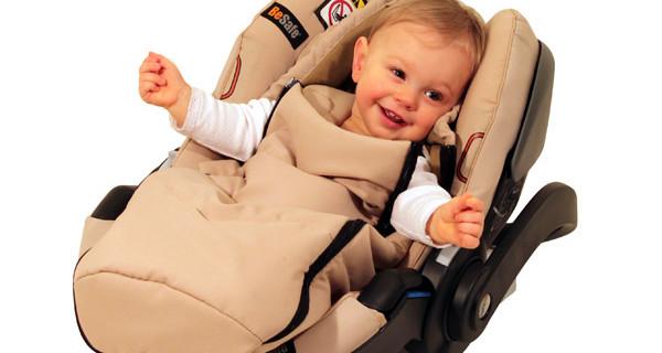 Bambini al caldo nel seggiolino: il nuovo sacco invernale BeSafe
