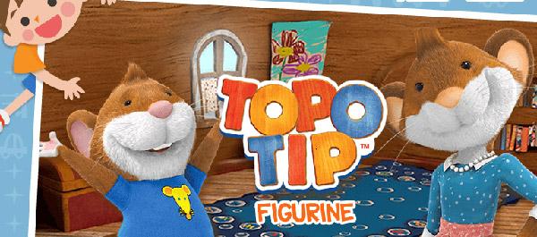 Topo tip figurine il protagonista del cartone animato diventa