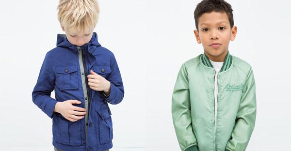 Giacche per la primavera dei bambini: le proposte firmate Zara Kids