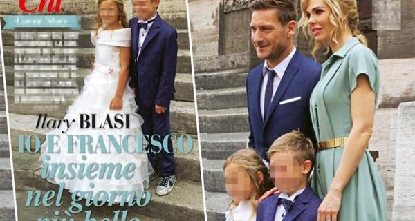 Abiti per la Prima Comunione: il look scelto da Ilary Blasi per la figlia Chanel