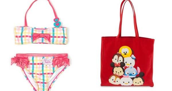 Costumi e accessori per la spiaggia firmati Disney Store: la nuova collezione