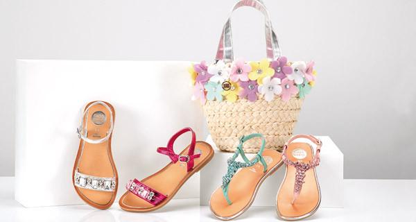 Sandali estivi per bambine: i modelli della nuova collezione di Gioseppo Kids