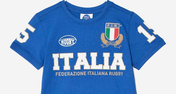 Bambini e Rugby: OVS lancia la collezione ufficiale bambino della Federazione Italiana Rugby