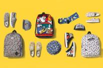 Vans e Disney: la collezione di scarpe, abbigliamento e accessori per adulti e bambini