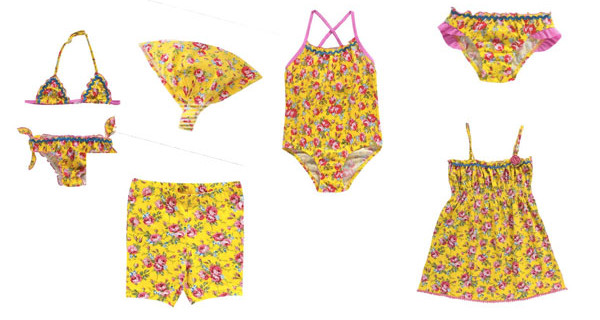 Costumi Chicco per bambina: i modelli per l'estate 2015  BimboChic