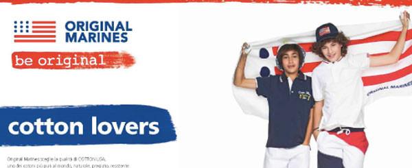 Cotton Lovers: la nuova campagna di Original Marines in collaborazione Cotton Usa