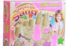 Castelli di sabbia in cameretta: arriva il nuovo gioco per bambini Creative Sand