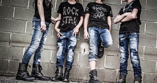 """Diesel Kid, la collezione """"rock"""" per la Primavera Estate 2016 a Pitti Bimbo"""