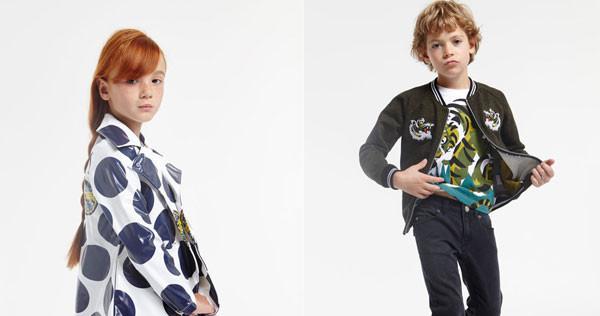 Kenzo Kids: la nuova collezione Primavera Estate 2016 dedicata ai bambini