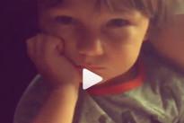 Santiago De Martino arrabbiato con mamma Belen: il nuovo dolce video della Rodriguez
