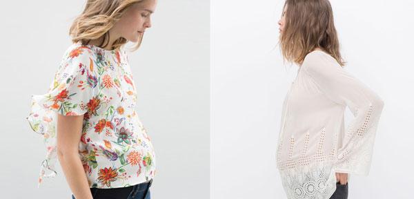 miglior servizio 43514 63bf2 Zara Premaman: abbigliamento alla moda dedicato alle donne in ...