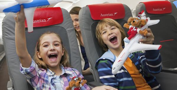 Austrian Airlines per bambini: ecco come funziona il Family Check-In dell'aeroporto di Vienna